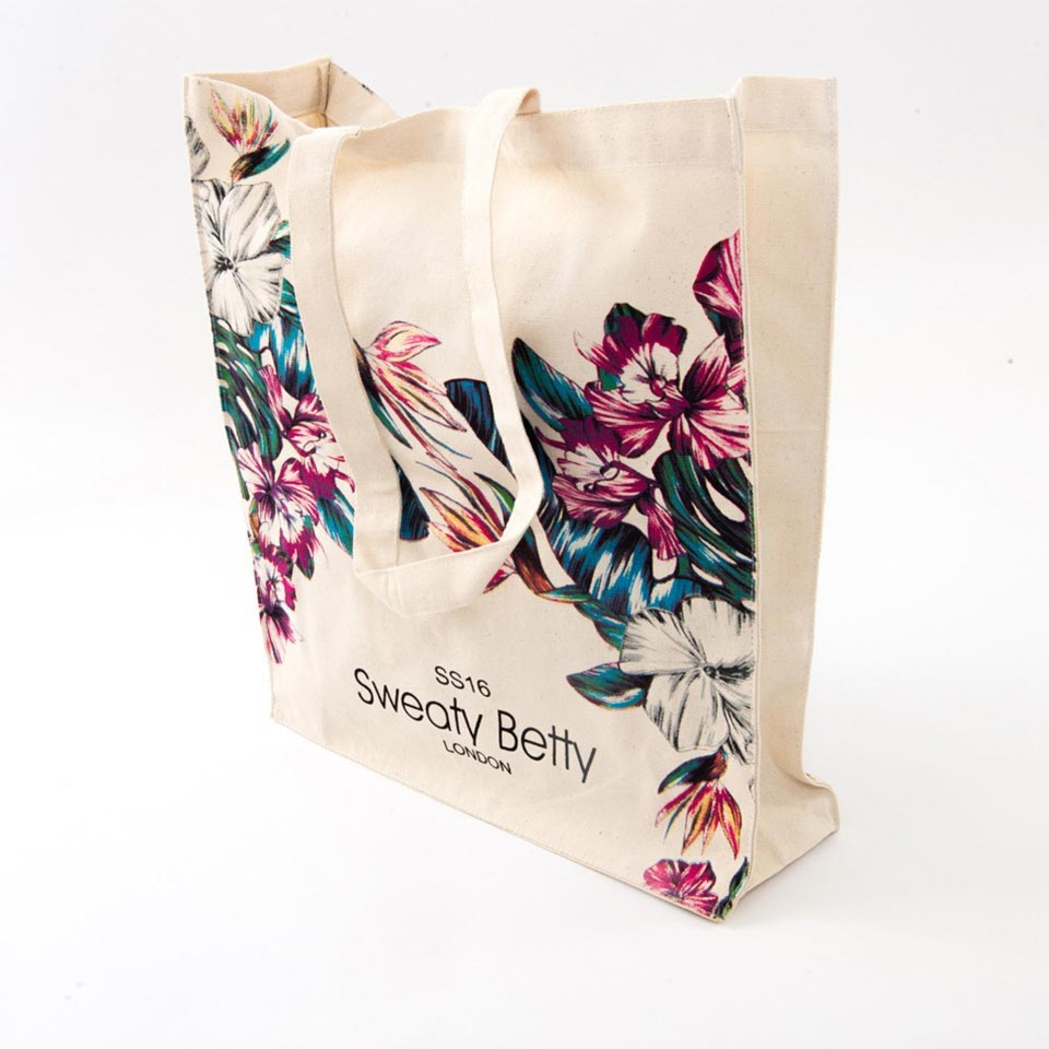 Printed Cotton and Canvas Bags
