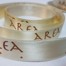Area - cream satin