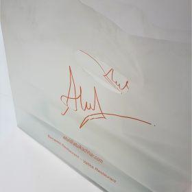 Atul Restaurant - Plastic Takeaway Bag