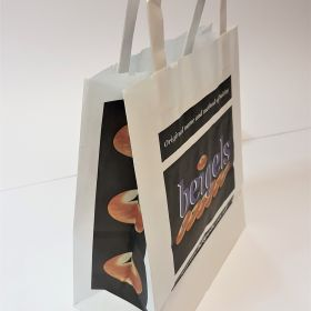 Beigels - Kraft Bags with Flat Tape Handles
