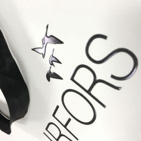 Berisfords - Black Satin Ribbon