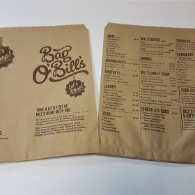 Bills - counter bag