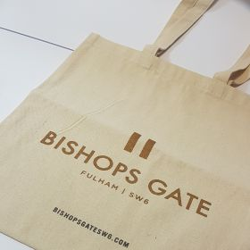 Bishops gate - canvas bag