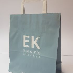 Emer's Kitchen - Kraft Bags with Flat Tape Handles