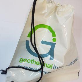 Geothermal - Plastic Duffle Bag