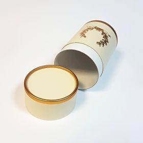 Gold foil tube