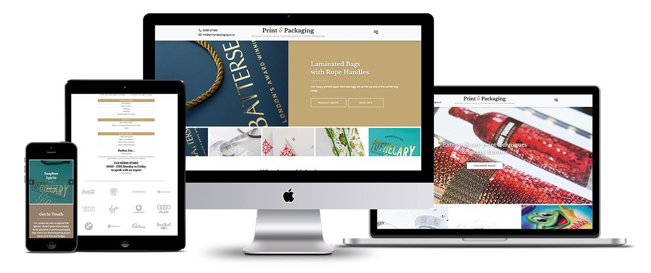 Print & Packaging New Website