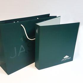 Jaspar bag and binder