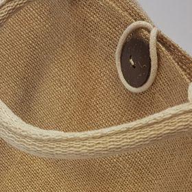 Jute bag detail