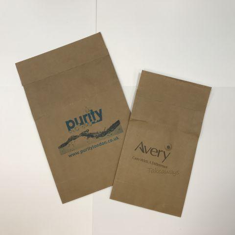 Kraft paper mailing bag 1