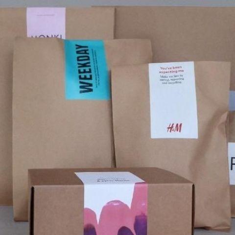 Kraft paper mailing bag