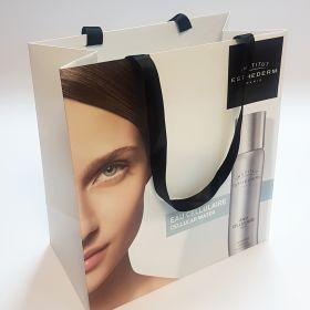Lam bag ribbon handles