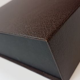 Leather finish - brown