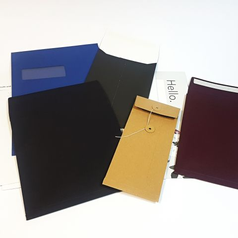 NEW - Printed V Bottom Gusset Envelopes