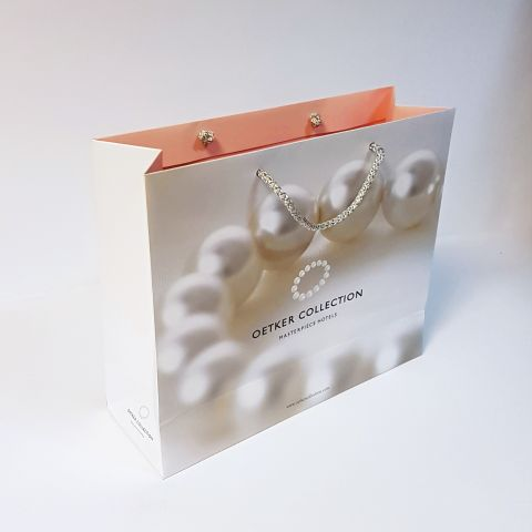 Luxury Unlaminated Bags with Rope Handles