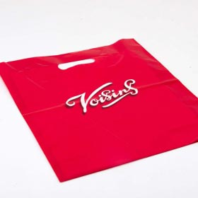 Plastic Carrier Bags with Patch Handles