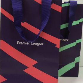 Premier League - Purple Grosgrain Ribbon