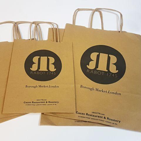 Printed Kraft <br/>Bags