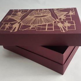 Rigid presentation box