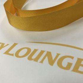 Sky Lounge - Golden Grosgrain Ribbon