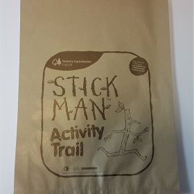 Stick Man Activity - counter bag