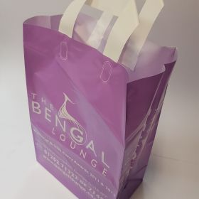 The Bengal Lounge - Plastic Takeaway bag