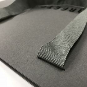 Unlam - Silver Grosgrain Ribbon