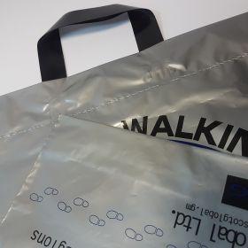 Walking - plastic bags/flexiloop handles