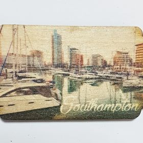Wooden Fridge Magnet Southampton