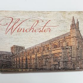 Wooden Fridge Magnet Winchester
