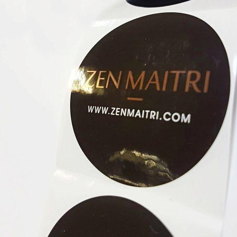 Zen Maitri Label